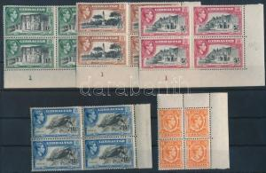 Gibraltar stamp Corner / corner blocks of 4 MNH 1938 WS233603