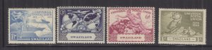 SWAZILAND, 1949 UPU set of 4, mnh.