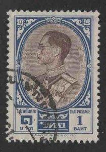 Thailand Scott 355 Used King Bhumibol Adulyadej stamp