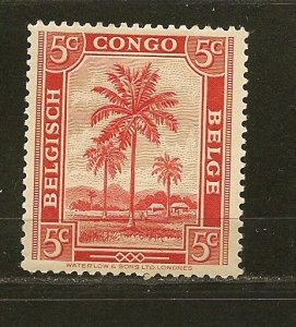 Belgian Congo 187 Oil Palms Mint Hinged