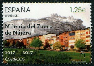 HERRICKSTAMP NEW ISSUES SPAIN Sc.# 4205 1000 Years Fuero Local Laws