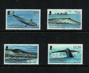 South Georgia: 2012, Blue Whale,  MNH set