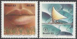 Brazil 1884-5  MNH World Food Program 1983