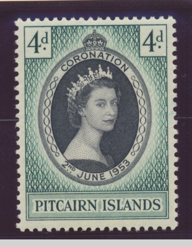 Pitcairn Islands Stamp Scott #19, Mint Hinged - Free U.S. Shipping, Free Worl...