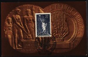 France. 1936 Maxim Card. S.G.541a Fine Used