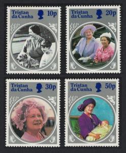 Tristan da Cunha Life and Times of Queen Elizabeth the Queen Mother 4v