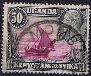 Kenya Tangananyika Tanzania SG 116 used 1935 King George V 50 c