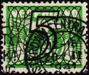 Netherlands. 1940 5 on 3c. S.G.523 Fine Used
