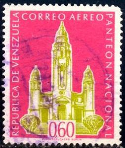National Pantheon, Venezuela stamp SC#C729 Used