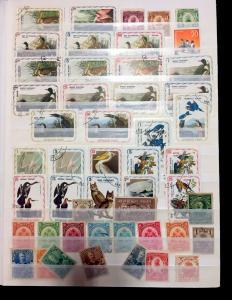 Haiti Kiribati Wildlife Sport Maps Anguilla OLD/Modern M&U Lot (280+)Aol02a