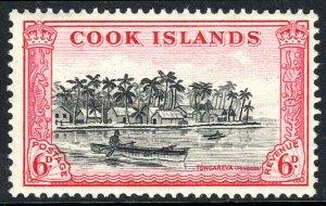 Cook Islands 136, MNH. View. Tongareva (Penrhyn) Scene, 1949