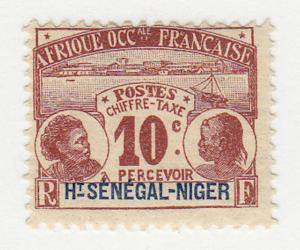 Upper Senegal & Niger - 1906 - SC J2 - H