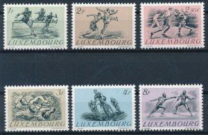 [I1523] Luxembourg 1952 good set of stamps very fine MNH $70