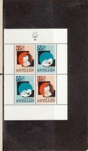 NETHERLANDS-ANTILLES B194a SOUVENIR SHEET MNH 2014 SCOTT CATALOGUE VALUE $2.00