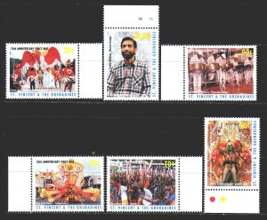 Saint Vincent and the Grenadines. 1997. 4036-41. Carnival in saint vincent. MNH.