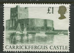 Great Britain -Scott 1445 - QEII - Castles -1992 - Used - Single  £1  Stamp
