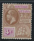 British Guiana SG 261 Mint Hinged  (Sc# 180 see details)