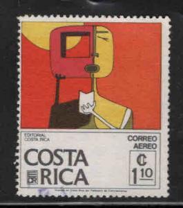 Costa Rica Scott C659 used Airmail stamp