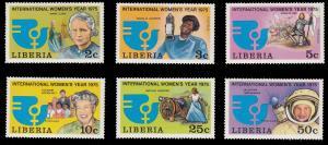 Liberia 697 - 702 MNH