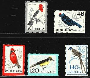 Uruguay C247-C251 - MH