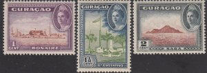 Curacao, SW198-200, MNH, 1943, Local Motif