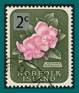 Norfolk Island 1966 Surcharge Lagunaria, used #72,SG61