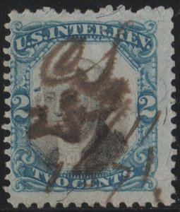 R104 2¢ Second Issue Revenue (1871) Used