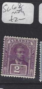SARAWAK  (P2911B)  BROOKE  2C    SG 68     MOG