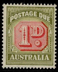 AUSTRALIA QEII SG D120, 1d carmine & green, M MINT.