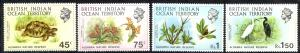 British Indian Ocean Territory Sc# 39-42 MNH 1971 Aldabra Nature Reserve