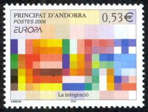 Andorra, French Sc# 612 MNH 2006 Europa