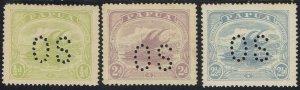 PAPUA 1911 LAKATOI OS 1/2D 2D AND 2/12D