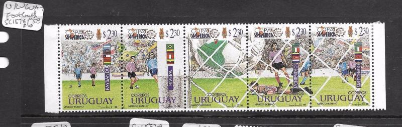 URUGUAY  (P2104B)  WORLD CUP, FOOTBALL SC 1578  MOG