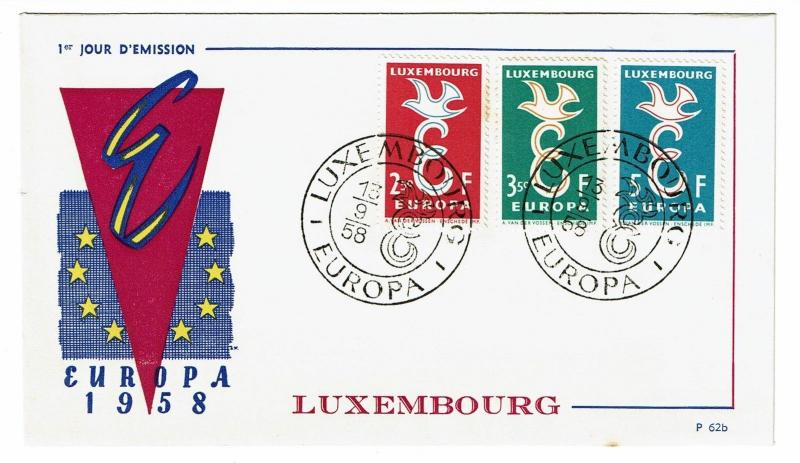 Luxembourg 1958 Europa First Day Cover - Z40