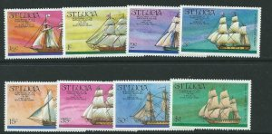 ST.LUCIA SG406/13 1976 BICENTENARY OF THE AMERICAN REVELOUTION MNH