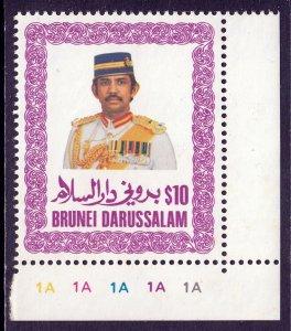 Brunei - Scott #344 - MNH - Typical patchy gum - SCV $11.50