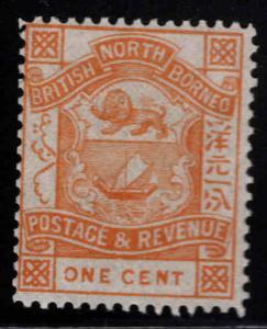 North Borneo Scott 36 MH* per 14