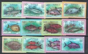 Tuvalu Fish 12v 2nd series 1997 MNH SG#770-781 CV£11.65