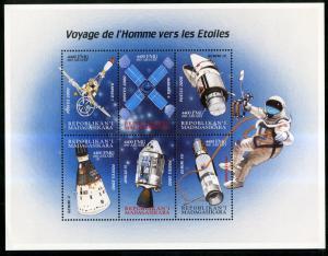 MADAGASCAR 1539 MNH S/S SCV $9.25 BIN $5.50 SPACE