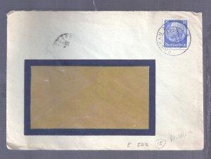 ISRAEL JUDAICA HOLOCAUST GERMANY 1936 COVER DACHAU POSTMARK TO FRANCE