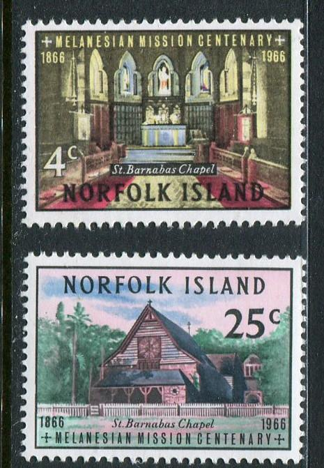 Norfolk Is #97-8 MNH - Penny Auction