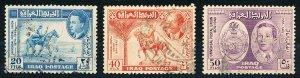 Iraq #130-132  Set of 3 Used