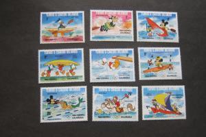 Turks & Caicos 1984 SC 619a-27a Disney set MNH