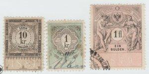 Austria Cinderella Revenue Fiscal stamp 9-19-21 as seen- 4b