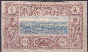 Somali Coast #8 Unused CV $14.00  (Z9717)