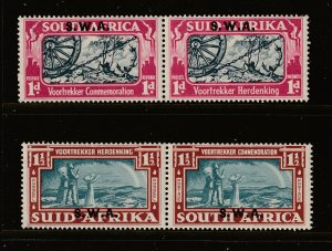 South West Africa the 1938 Voortrekker pair MH