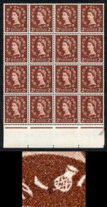S37g 2d Edward Wmk U/M Marginal Block 16 Retouched (ebay 1)
