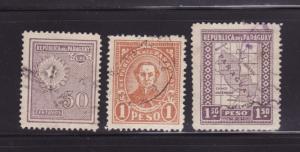 Paraguay 284, 289, 291 U Various
