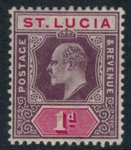 St. Lucia #44* CV $6.50
