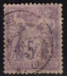 France #96 F-VF Used CV $70.00 (X5049)